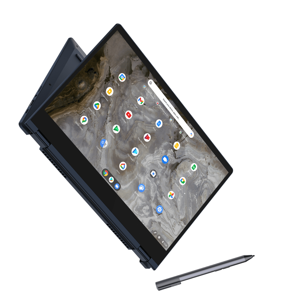 Lenovo-IdeaPad-Flex-5i-Chromebook_13in_Abyss_Blue_Between_Tablet_and_Tent_Mode_with_Pen-1024x1024